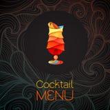 för tequilasoluppgång för coctail 3D design gears symbolen grönsaker för bakgrundsdesignmeny Vektor Illustrationer