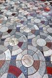 För texturbakgrund för granit marmor mönstrad marmor av Thailand, abstrakt naturlig marmor som är svartvit för den inomhus utomhu Royaltyfri Fotografi