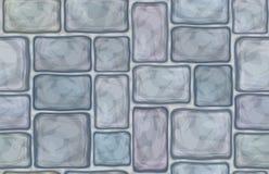 För texturgrå färger för vektor sömlös sten Arkivbild