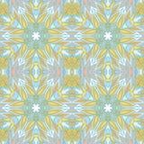 För texturmodell för prydnad blom- bakgrund Royaltyfria Bilder