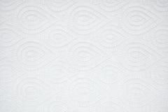 För texturtoalett för slut övre papper det vit färg Royaltyfri Foto
