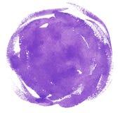 för texturviolet för abstrakt bakgrund färgad paper vattenfärg Royaltyfri Fotografi