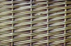För texturzickzackmönster för vide- korg modell Royaltyfri Foto