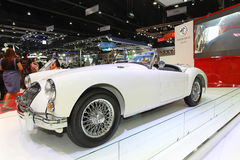 För Thailand för MG bilskärm expo 2013 för motor International Arkivfoton