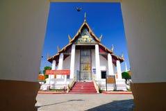 för thailand för tempel för mahathatnakhonsi wat thammarat Arkivbild