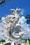 för thailand för tempel för uppgift för rong för rai för khun för härlig chiang för konstdragningar kulturell fin white wat Arkivbilder