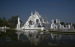 för thailand för tempel för uppgift för rong för rai för khun för härlig chiang för konstdragningar kulturell fin white wat Royaltyfria Foton