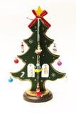 för toytree för bakgrund jul isolerad white Arkivfoton