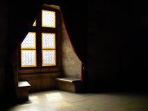 För transylvania för Corvin slotthunedoara gotisk historia huniazilor arkivfoton