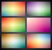För triangelbakgrund för vektor geometrisk samling Arkivbilder