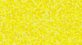 För triangeltegelplattor för gul mosaik durk eller vägggarnering för tapet Bakgrund för textur för material för arkitekturdesignm royaltyfri illustrationer