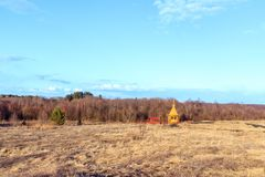 För `-Tsaritsyn för vår väl ` tangent nära den Tolvuya byn Fotografering för Bildbyråer
