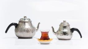 För turk te traditionellt arkivfoto