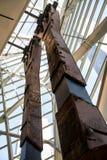 för tvillingbroderpelaren för 9 11 New York City kolonnen fördärvar förstört Royaltyfria Bilder