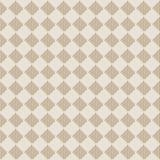 För tygtextur för Diagonal fyrkantig beige sömlös modell royaltyfri illustrationer