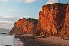 ` För udde D eller, Nova Scotia Fotografering för Bildbyråer