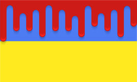 För Ukraina för vektor modern bakgrund flagga. Eps 10 Royaltyfria Foton