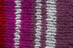 För ullrät maska för textur naturlig modell Fotografering för Bildbyråer