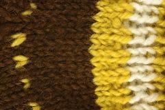För ullrät maska för textur naturlig modell Royaltyfri Foto