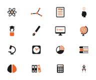 För universitet symboler enkelt Arkivbilder