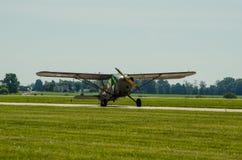 För USA-armé för gräshoppa L2 flygplan Royaltyfri Fotografi