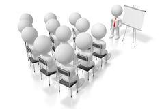 för utbildningsfall för seminar/3D begrepp för konferens för study/ stock illustrationer
