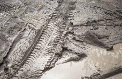 För vägfragment för Mud smutsig bakgrund Royaltyfri Fotografi