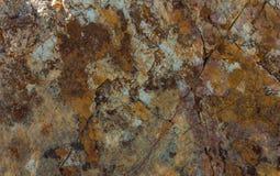 För väggtextur för bakgrund skrapade fördärvad brun grunge för abstrakt begrepp textur Arkivfoton