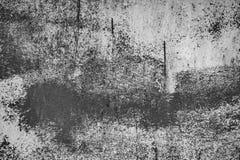 För väggtextur för vit metall bakgrund med skrapor Royaltyfri Fotografi