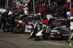 För världslastbil för NASCAR campa serie Arkivbild