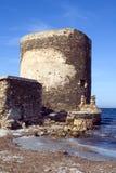för vaktpostlivegen för 2 kust torn Royaltyfri Fotografi