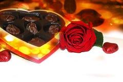 För valentin` s för förälskelse abstrakt bakgrund Royaltyfri Fotografi