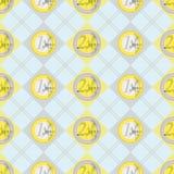för valutaeuro för bakgrund färgrik european Royaltyfri Fotografi