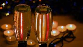 För vaxljus för Champagne glass studio