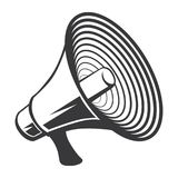 """För vektor†för högtalare horn- mapp för illustration för materiel """"för †för illustration för materiel """" vektor illustrationer"""