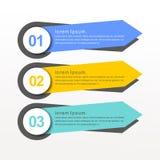 För vektorbaner för färgrik design idérika samlingar vektor illustrationer