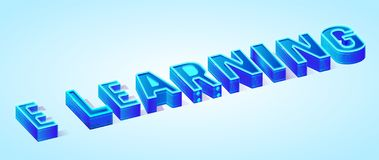 För vektorbaner för NAMN isometrisk mall, neonljus royaltyfri illustrationer