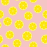 För vektormodell för rosa lemonad sömlös tegelplatta Royaltyfria Foton