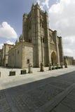 För vila för Catedral de ï ¿ ½ vila för ½ för ¿ för ï för ½ för ¿ ï Cathedra, domkyrka av Avila, den äldsta gotiska kyrkan i Span Royaltyfria Bilder