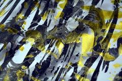 För vitblått för vattenfärg suddiga fläckar för vattenfärg för målarfärg för textur Arkivfoto