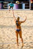 För volleybollvärld för strand 2011 mästerskap - Rome, Italien Arkivbilder