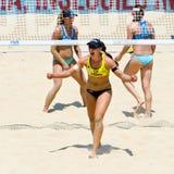 För volleybollvärld för strand 2011 mästerskap - Rome, Italien Royaltyfria Bilder