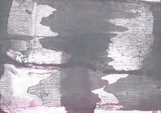 För washteckning för grå färger strimmig bakgrund Royaltyfri Foto