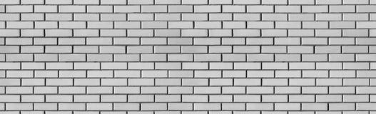 För washtegelsten för tappning vit textur för vägg för design Panorama- bakgrund arkivbild