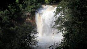 För yai för Haew Suwat vattenfallkao arv för värld nationalpark, Thailand, arkivfilmer