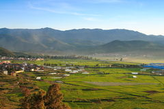 ¼ för Yunnan lantlig Chinas farmlandï¼ 4ï Arkivbilder