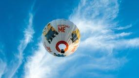 Föraktligt mig ballong Arkivbild