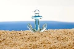 förankrad det turbulent havet Royaltyfri Foto