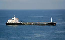 förankrad tanka tankfartyg för port Arkivbilder