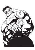 Förarglig biceps Royaltyfria Foton